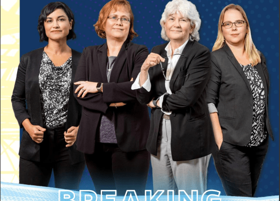 UF Biomedical Engineer Ayse Gunduz featured on the cover of the magazine CrossLink for her contributions to the field, for breaking barriers, and for receiving the Presidential Early Career Award for Scientists and Engineers (PECAS).
