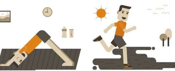 Person exercising