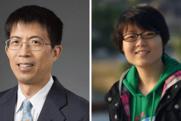 doctors Yuning Liu and Yuqing Li